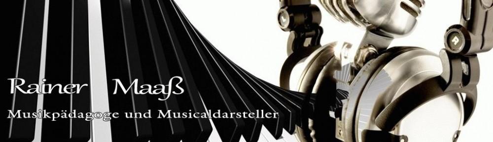 Rainer Maaß – Musiklehrer und Musicaldarsteller